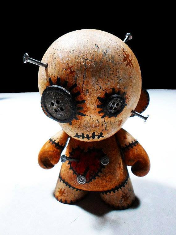 Munny Voodoo Doll 171 Horrific Finds