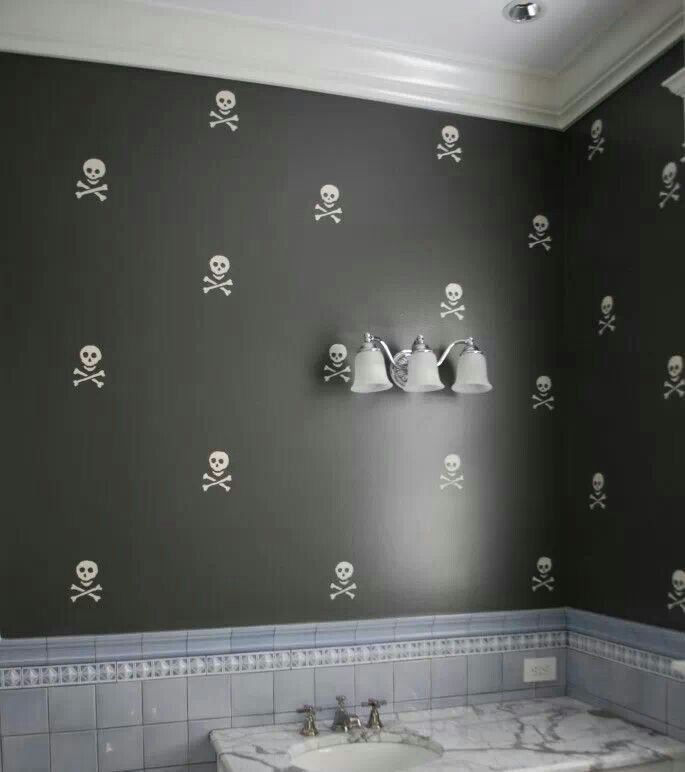 Dark Decor Skull Bathroom E4711148bd46dbf81ae4f295552d745e