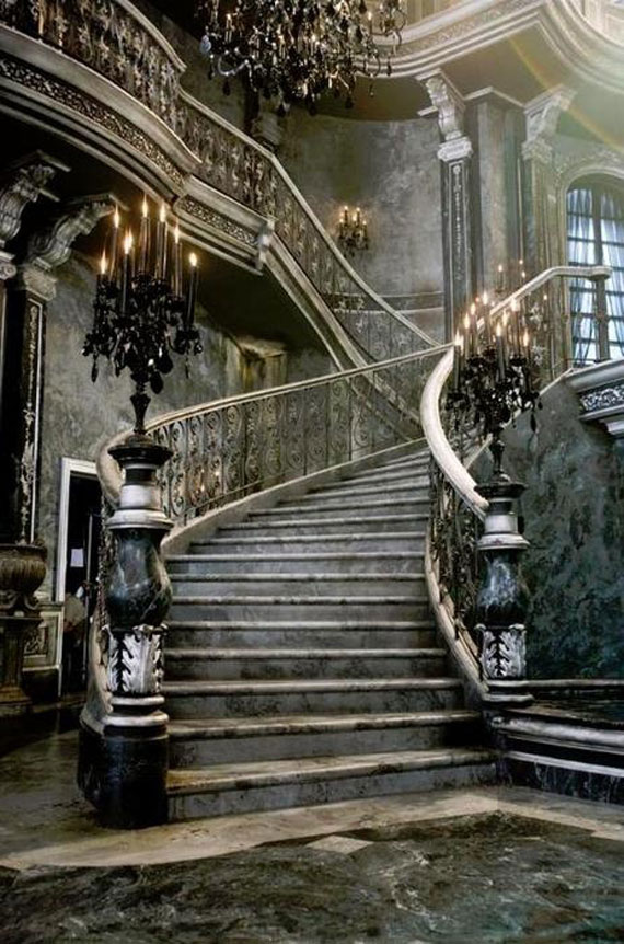 Dark Decor Gothic Staircase Horrific Finds