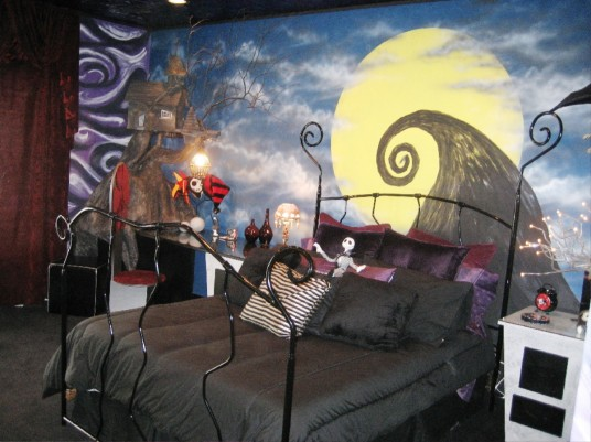 home decor nightmare before christmas bedroom