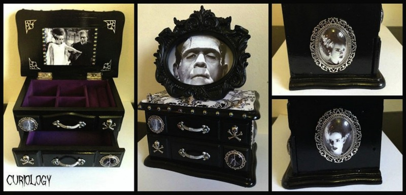 Curiology Custom Theme Gothic Jewellery Boxes Horrific Finds