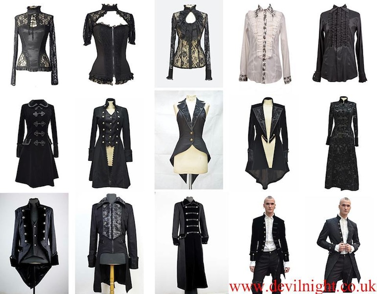 Chiffon Top - Gothic clothing women's tops and shirts. - Polyvore