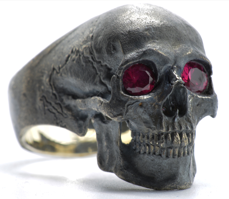 Into The Fire Jewelry Full Jaw with Natural Rubies