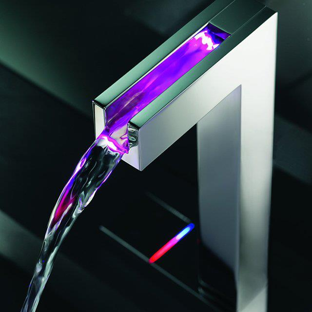 led-temperature-sensitive-faucet