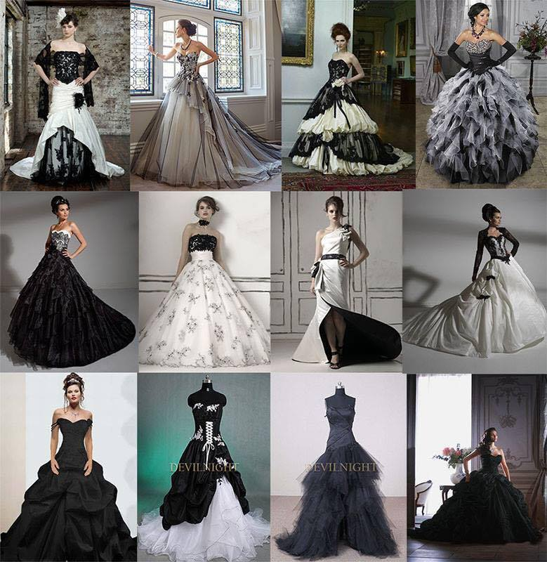gothic alternative bridal gowns collection